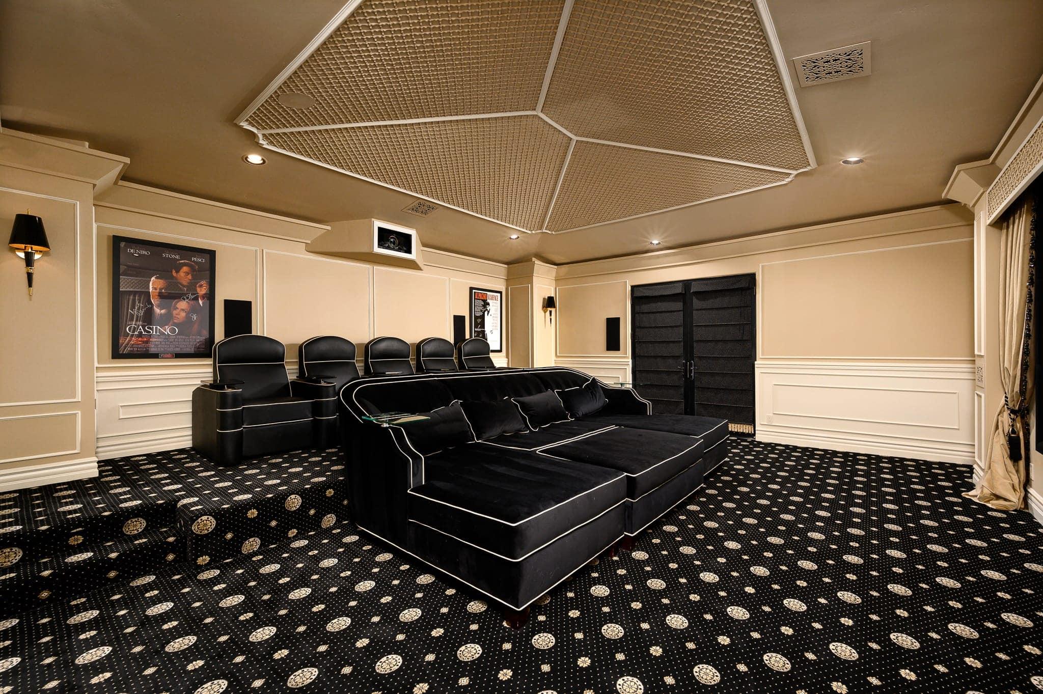 paradise villa home theatre
